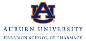 Auburn University School of Pharmacy footer logo