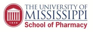 University of Mississippi School of Pharmacy footer logo